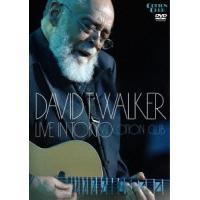 David T. Walker LIVE IN TOKYO AT COTTON CLUB DVD