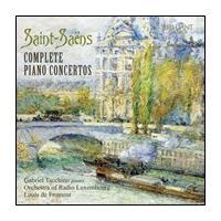 ガブリエル・タッキーノ Saint-Saens: Complete Piano Concertos CD