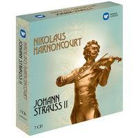 ニコラウス・アーノンクール Nikolaus Harnoncourt - Johann Strauss II Recordings<初回完全限定生産盤> CD|tower
