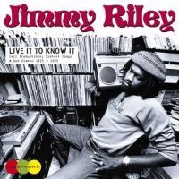 Jimmy Riley ライヴ・イット・トゥ・ノウ・イット CD|tower