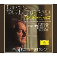 ヴィルヘルム・ケンプ ベートーヴェン: ピアノ協奏曲全集; <特別収録>ヴァイオリン・ソナタ第9番「クロイツェル」< CD