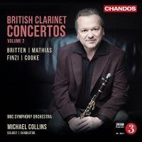 マイケル・コリンズ British Clarinet Concertos Vol.2 CD tower