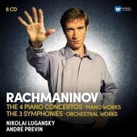 ニコライ・ルガンスキー Rachmaninov: Piano Concertos, Symphonies, Orchestral Works<限定盤> CD|tower