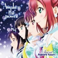 Saint Aqours Snow Awaken the power 12cmCD Single|tower|01