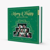 TWICE Merry&Happy: 1st Album Repackage (Merry Ver.) CD|tower
