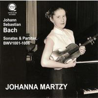 ヨハンナ・マルツィ J.S. バッハ: 無伴奏ヴァイオリンのためのソナタとパルティータ BWV1001-1006 CD