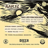 ブルーノ・ワルター マーラー: 交響曲《大地の歌》、リュッケルト歌曲集から<タワーレコード限定> SACD Hybrid