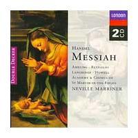 ネヴィル・マリナー Handel: Messiah / Marriner, Ameling, Reynolds, Langridge CD|tower