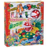 おもちゃ EPT-07300 ボードゲーム スーパーマリオ かみつき注意!パックンフラワーゲーム