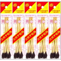 【関東 中部 送料無料】関西地方を中心に親しまれる、ワラスボに火薬をつけた線香花火です!西の線香花火 スボテ牡丹 金木犀 5袋
