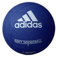人気の高いアディダスブランドのゴムドッジボールです。通常のドッジボールよりも柔らかい構造のため、小さ...
