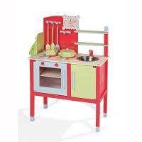【プレゼント・ギフトに大人気です!】フランスで人気の木製玩具「ジャノー」のおままごとキッチン。おしゃ...