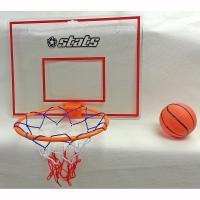 スタッツはトイザらスのオリジナルブランドです。お手軽ミニバスケットゴール!ドアや壁に手軽に取り付けが...