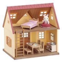 初めてシルバニアファミリーを購入される方におすすめのハウス・人形(ショコラウサギの女の子)・家具(レ...
