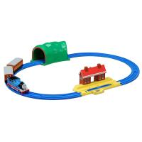 車両・駅・トンネルの付いた、きかんしゃトーマスのプラレールベーシックセットです。アニメに実際に登場す...
