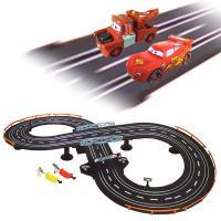カーズのキャラクターたちがレーシングスロットカーセットで登場です!!コースレイアウトサイズ100×5...