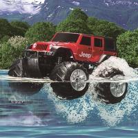 メタリックレッドのボディで一気に水面に飛び込め!WドライブFJクルーザーと一緒なら最大6台同時走行が...