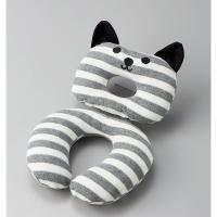 チャイルドシート・ベビーカーに使えるクッションです。かわいいお子様が猫に変身。おやすみ中のベビー枕に...