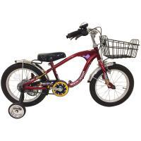 ビーチクルーザー風自転車で、親御様にも大人気の自転車です。サドルに取っ手がついていますのでもち運ぶと...
