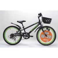 AVIGOはトイザらスのオリジナルブランドです。マットカラーでダークイメージなデザインの自転車です。...