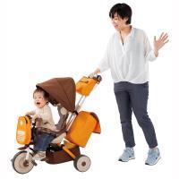 ピープルのママも楽々シリーズ「手ぶらで三輪車」トイザらスオリジナルで新登場!三輪車で初!4つの収納搭...