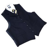 ●オシャレな襟付きオッドベスト。暖かいフランネル素材です。●実寸をご参考にお選びくださいませ。●クラ...