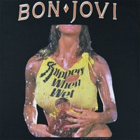BON JOVI Slippery When Wet Tシャツ