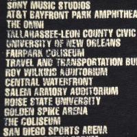 NIRVANA In Utero Tour Tシャツ