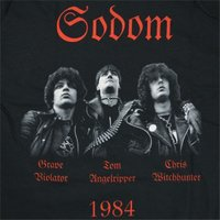 SODOM In The Sign Of Evil ロングスリーブ Tシャツ