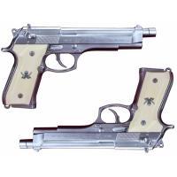 Fullcock Realfoam Water Gun ブラックラグーン レヴィの愛銃 SWORD CUTLASS 塗装版 シルバー 2丁セット 全長約257mm ABS製 ウ