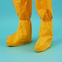 タイベック タイケムCシューズカバー化学防護服/保護服(アゼアス) 軽量でありながらほとんどの高濃度...