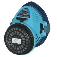 取替え式防毒マスクG-7-06型(興研) 吸収缶をつけても約112gと軽く、塗装作業や建築現場でも使...