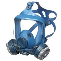 取替え式防毒マスク1821HG型(興研) 高性能フィルター付のため、防塵機能を有する防毒マスク。三次...