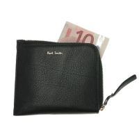 ▽スマートなフォルムと、ポールスミスらしい色使いが施されたL字型ファスナー財布。柔らかなレザーを使用...