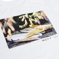 RVCA ルーカ メンズクルーネックTシャツ AL / AH041-234 ホワイト
