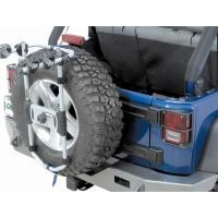 適合車種 : JKラングラー、TJラングラー、その他背面スペアタイヤ装着車のほとんどに適合。   ・...