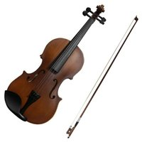 新発売!! 幼児用バイオリン1/8サイズ。 初心者に最適な5点セットで内容充実。 届いたその日から練...