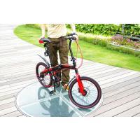アルミ折りたたみ自転車 20インチ 7段変速付 WACHSEN/ヴァクセン BA-10D EXTREM (エクストレム)|trend-ex|02