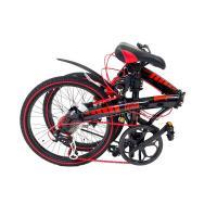アルミ折りたたみ自転車 20インチ 7段変速付 WACHSEN/ヴァクセン BA-10D EXTREM (エクストレム)|trend-ex|05