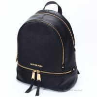 (マイケルコース バッグ) 型番:30S5GEZB1L 001 素材:レザー カラー:ブラック×ゴー...
