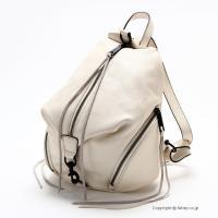 【レベッカミンコフ バッグ】 型番:HC36MPBB25 ANTIQUE WHITE 素材:天然皮革...