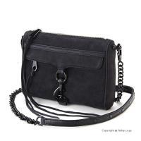 【レベッカミンコフ バッグ】 型番:HSP7MNUX01 BLACK NUBUCK 素材:天然皮革/...