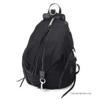 【レベッカミンコフ バッグ】 型番:HF17EWNB01 BLACK 素材:ナイロン/天然皮革 カラ...