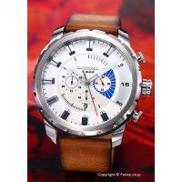 【ディーゼル 腕時計】 サイズ:メンズ ケースサイズ:縦58mm(ラグ部分含む)×横51mm×厚さ1...