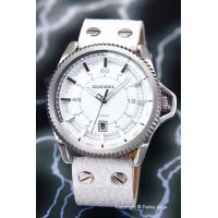 【ディーゼル 腕時計】 サイズ:メンズ ケースサイズ:直径46mm×厚さ11mm バンド素材(カラー...