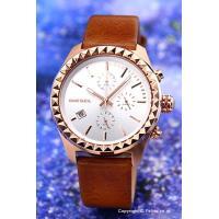 【ディーゼル腕時計】 サイズ:レディース ケースサイズ:縦46mm(ラグ部分含む)×横40mm×厚さ...