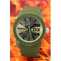 【ディーゼル 腕時計】 サイズ:ユニセックス ケースサイズ:直径44mm×厚さ11mm バンド素材(...