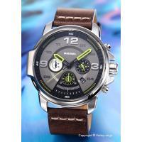 【ディーゼル腕時計】 サイズ:メンズ ケースサイズ:直径50mm×厚さ13.5mm バンド素材(カラ...