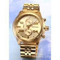 【ディーゼル腕時計】 サイズ:メンズ ケースサイズ:直径50mm×厚さ13mm バンド素材(カラー)...