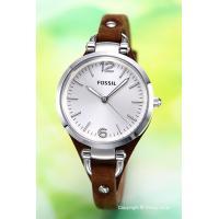 【フォッシル腕時計】 サイズ:レディース ケースサイズ:直径32mm×厚さ8mm バンド素材(カラー...